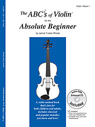 ABCs of Violin Book 1