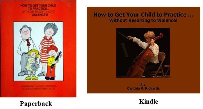 How to Get Your Child to Practice. . .Without Resorting to Violence