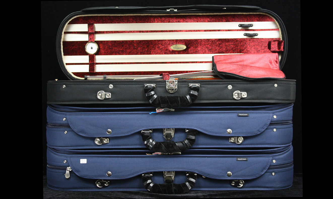 Deluxe Woodshell Violin Case