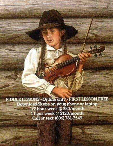 Fiddle Lessons Online