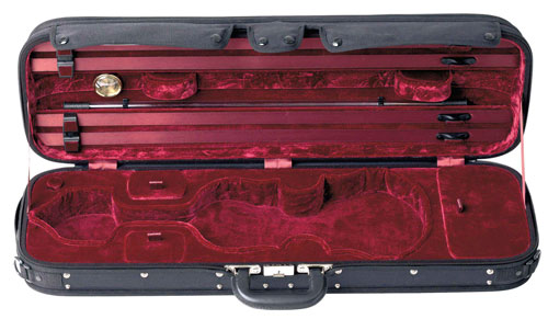 how to open a violin case