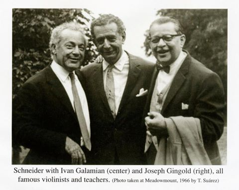 Sneider, Galamian, Gingold