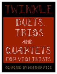Twinkle Duets, Trios and Quartets