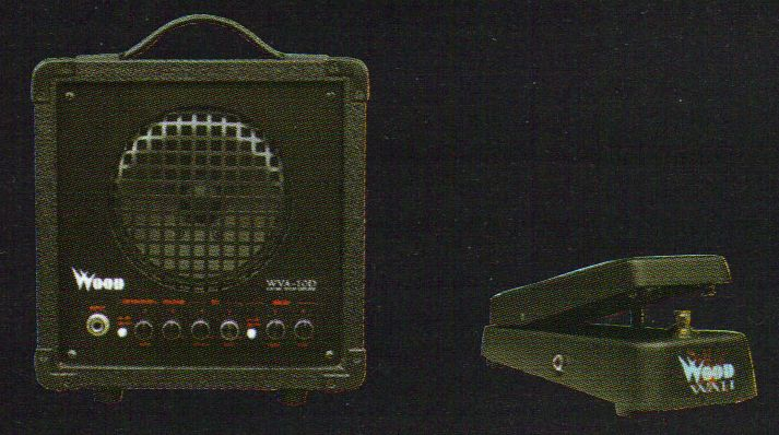 Amp and Wah pedal