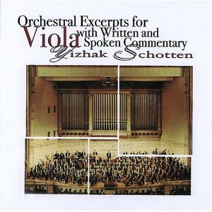 Orchestra Excerpts for Viola